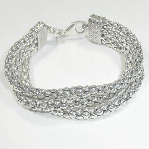 Silpada Sterling Silver Popcorn Bracelet B1210